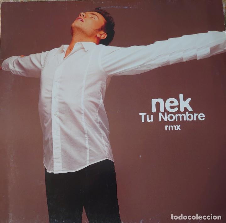 NEK MAXI-SINGLE EDITADO EN ESPAÑA AÑO 1997 POR EL SELLO WEA... (Música - Discos de Vinilo - Maxi Singles - Canción Francesa e Italiana)