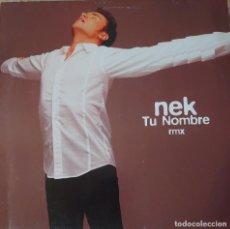Discos de vinilo: NEK MAXI-SINGLE EDITADO EN ESPAÑA AÑO 1997 POR EL SELLO WEA.... Lote 282199768