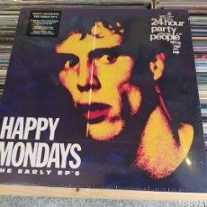 Discos de vinilo: HAPPY MONDAYS–THE EARLY EP'S . CAJA BOX. NUEVA. PRECINTADA. Lote 282220998