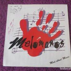 """Discos de vinilo: MELÓMANOS – MAD ABOUT MUSIC, VINYL 12"""",1994 SPAIN A-001. Lote 282230173"""
