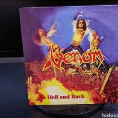Discos de vinilo: VENOM.TO HELL AND BACK 4 TEMAS. Lote 282236028