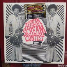 Discos de vinilo: AFRICAN SCREAM CONTEST VOL.2 - BENIN 1963-1980. DOBLE LP VINILO NUEVO PRECINTADO. ANALOG AFRICA. Lote 282238318