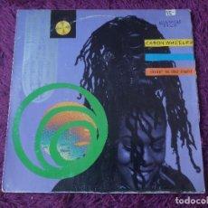 Discos de vinilo: CARON WHEELER – LIVIN' IN THE LIGHT ,VINYL MAXI-SINGLE 1990 SPAIN PT 43940(3A). Lote 282242418