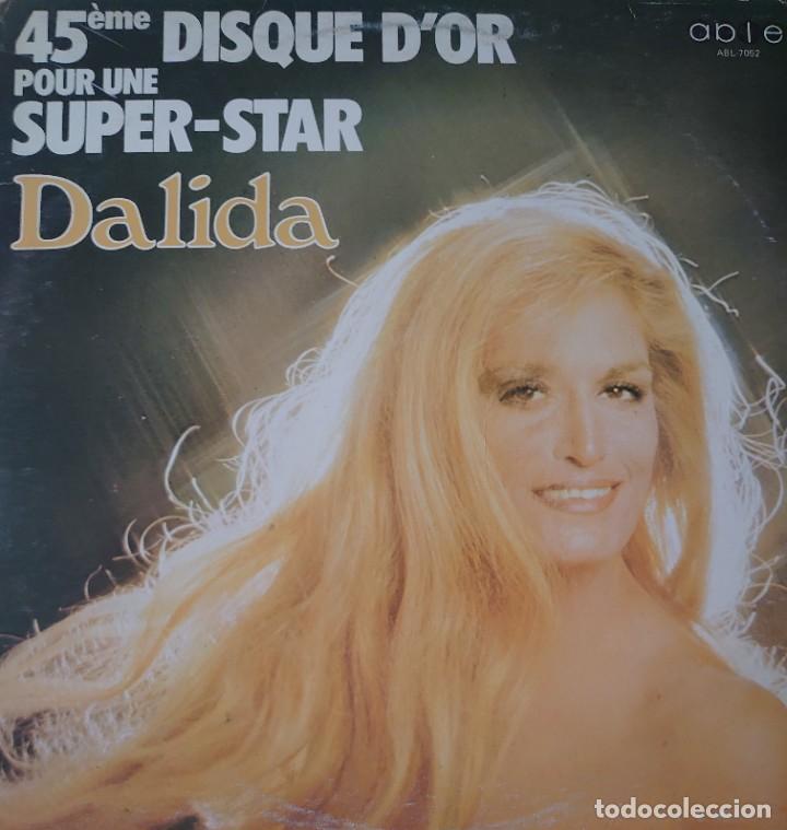 DALIDA MAXI-SINGLE SELLO ABLE EDITADO EN CANADÁ AÑO 1978... (Música - Discos de Vinilo - Maxi Singles - Canción Francesa e Italiana)