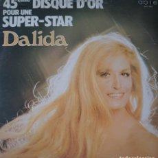 Discos de vinilo: DALIDA MAXI-SINGLE SELLO ABLE EDITADO EN CANADÁ AÑO 1978.... Lote 282269718