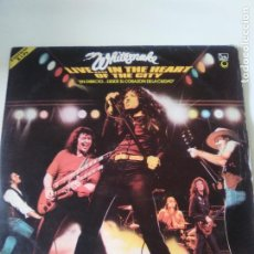 Discos de vinilo: WHITESNAKE LIVE IN THE HEART OF THE CITY 2LP ( 1981 LIBERTY ESPAÑA ) DAVID COVERDALE DIRECTO. Lote 282494798
