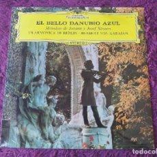 Discos de vinil: HERBERT VON KARAJAN – EL BELLO DANUBIO AZUL , VINYL LP SPAIN 1977 11 39 014. Lote 282542098