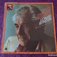 Discos de vinilo: BERLIOZ / BERNSTEIN – SYMPHONIE FANTASTIQUE ,VINYL LP SPAIN 1978 QUADRAPHONIC 10C 065-02 898 Q. Lote 282544073