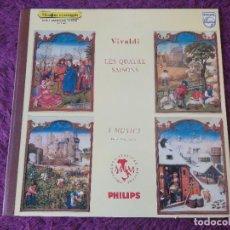 Discos de vinil: VIVALDI – LES QUATRE SAISONS , VINYL LP FRANCE GATEFOLD 6515 007. Lote 282550428