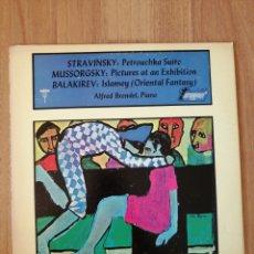 Disques de vinyle: VINILO STRAVINSKY, MOUSSORGSKI, BALAKIREV, ALFRED BRENDEL. Lote 282574818