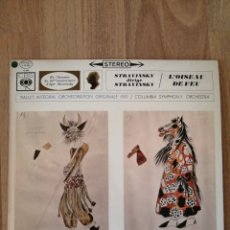 Disques de vinyle: VINILO STRAVINSKY, STEREO, CBS. Lote 282577248