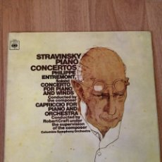 Disques de vinyle: VINILO STRAVINSKY, CBS, PIANO. Lote 282577398