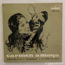 Discos de vinilo: CARMEN AMAYA. Lote 282585683