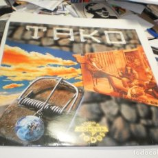 Discos de vinil: LP TAKO. TODOS CONTRA TODOS. ARIOLA 1993 SPAIN FUNDA INTERIOR (PROBADO, BIEN, BUEN ESTADO). Lote 282858553