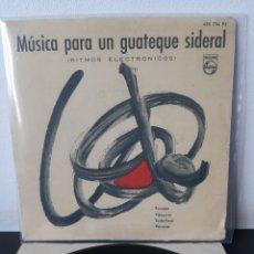 Discos de vinilo: MUSICA PARA UN GUATEQUE SIDERAL.1960. ESP. Lote 282898423