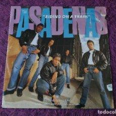 "Discos de vinilo: THE PASADENAS – RIDING ON A TRAIN ,VINYL 12"" UK 1988 PASA QT2. Lote 282952353"