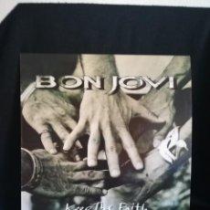 Dischi in vinile: LP BON JOVI - KEEP THE FAITH (LP, ALBUM), 1992 ESPAÑA, EXCELENTE. Lote 282956633