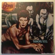 Discos de vinilo: DAVID BOWIE – DIAMOND DOGS, INDIANOPOLIS PRESS, US 1974 RCA VICTOR. Lote 282982128