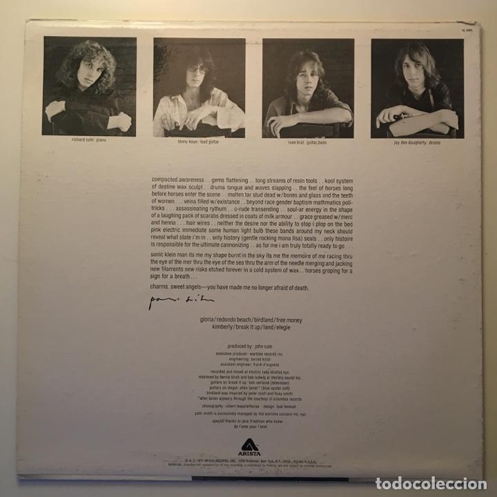 Discos de vinilo: Patti Smith – Horses, Peter Pan Press, US 1975 Arista - Foto 2 - 282982228