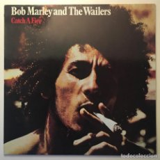 Discos de vinilo: BOB MARLEY AND THE WAILERS – CATCH A FIRE, EUROPE TUFF GONG. Lote 282983288
