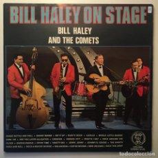 Discos de vinilo: BILL HALEY AND THE COMETS – BILL HALEY ON STAGE, 2 LPS, SCANDINAVIA 1971 GRAND PRIX. Lote 282990773