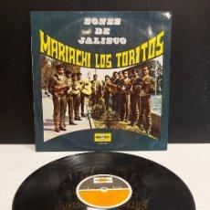 Discos de vinilo: MARIACHI LOS TORITOS / SONES DE JALISCO / LP - MARFER-1971 / MBC. ***/***. Lote 283001218