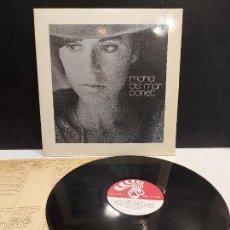 Discos de vinilo: MARIA DEL MAR BONET / MISMO TÍTULO / LP - BOCACCIO RECORDS-1971 / MBC. ***/*** LETRAS.. Lote 283001308