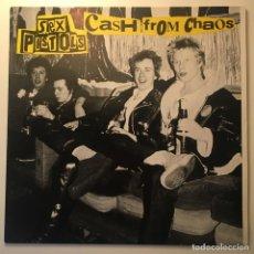 Discos de vinilo: SEX PISTOLS – CASH FROM CHAOS, UNOFFICIAL, UK 1988 SPECIFIC. Lote 283014658