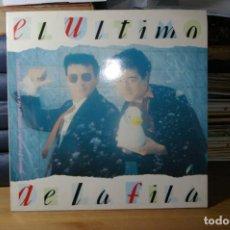 Discos de vinilo: EL ULTIMO DE LA FILA LP EMI 1990 NUEVO PEQUEÑO CATALOGO DE SERES Y ESTARES NUEVO. Lote 283021863