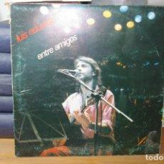 Discos de vinilo: LUIS EDUARDO AUTE LP DOBLE DIRECTO ENTRE AMIGOS 1983. Lote 283030243
