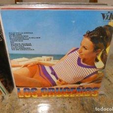 Discos de vinilo: RARUNO LP LOS CRUCEÑOS ALLA EN LA PLAYA VIK 1968 BUEN ESTADO GENERAL. Lote 283038533