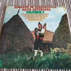 Disques de vinyle: SINGLE EDUARDO DE RIBADESELLA 2 GAITA ASTURIANA. Lote 283041058