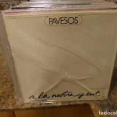 Discos de vinilo: LP MUSICA CATALANA PAVESOS LA NOSTRA GENT BUEN ESTADO GENERAL MOVIEPLAY 1976. Lote 283057953