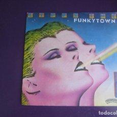 Discos de vinil: LIPPS INC – FUNKYTOWN - SG CASABLANCA 1980 - DISCO 80'S ELECTRONICA - POCO USO. Lote 283058913