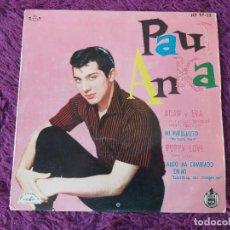 """Discos de vinilo: PAUL ANKA – ADÁN Y EVA, VINYL 7"""" EP 1960 SPAIN HP 97-22. Lote 283063973"""