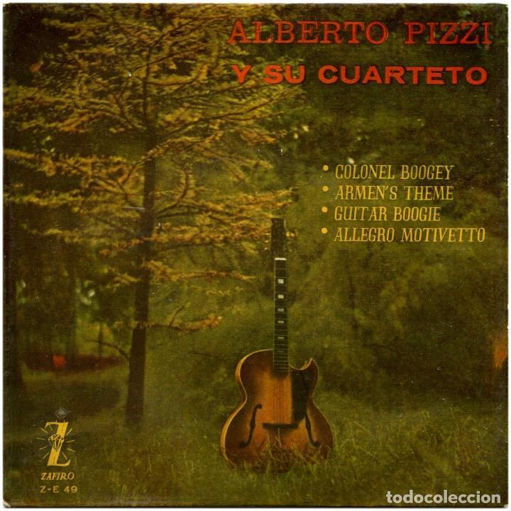 ALBERTO PIZZI (ALBERTO PIZZIGONI) Y SU QUARTETO - COLONEY BOOGEY - EP SPAIN 1959 - ZAFIRO Z-E 49 (Música - Discos de Vinilo - EPs - Rock & Roll)