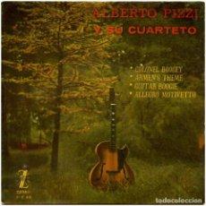 Discos de vinilo: ALBERTO PIZZI (ALBERTO PIZZIGONI) Y SU QUARTETO - COLONEY BOOGEY - EP SPAIN 1959 - ZAFIRO Z-E 49. Lote 283065013
