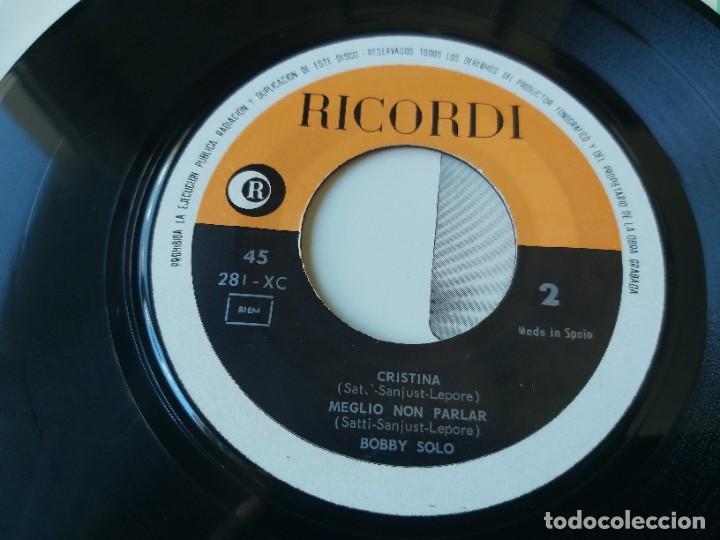 "Discos de vinilo: Bobby Solo – Festival San Remo 65, Vinyl 7"" EP 1965 Spain 281 - XC - Foto 5 - 283066038"