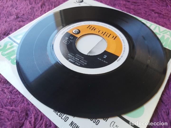 "Discos de vinilo: Bobby Solo – Festival San Remo 65, Vinyl 7"" EP 1965 Spain 281 - XC - Foto 6 - 283066038"
