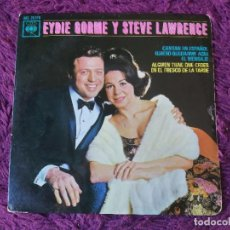 "Discos de vinilo: EYDIE GORME Y STEVE LAWRENCE – CANTAN EN ESPAÑOL VINYL 7"" EP 1963 SPAIN AGS 20.178. Lote 283070143"