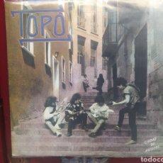 Discos de vinilo: TOPO -CIUDAD DE MÚSICOS. LP VINILO . EDICIÓN 1986 . BUEN ESTADO. Lote 283074548