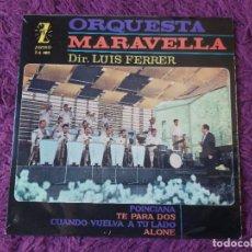 "Discos de vinilo: ORQUESTA MARAVELLA – DE VIAJE CON LA MARAVELLA VOL II, VINYL 7"" EP 1972 SPAIN Z-E 480 S. Lote 283075348"