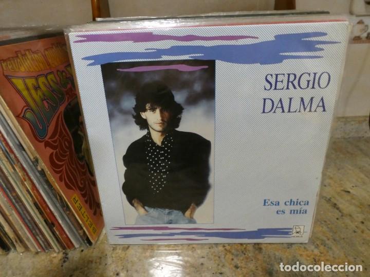LP SERGIO DALMA ESA CHICA ES MIA MUY BUEN ESTADO GENERAL (Música - Discos - LP Vinilo - Pop - Rock - Internacional de los 70)