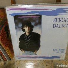 Discos de vinilo: LP SERGIO DALMA ESA CHICA ES MIA MUY BUEN ESTADO GENERAL. Lote 283088453