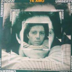Discos de vinilo: UMBERTO TOZZI MAXI-SINGLE SELLO EPIC EDITADO EN ESPAÑA AÑO 1977 PROMOCIÓNAL.... Lote 283162683