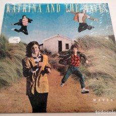 Discos de vinilo: VINILO LP DE KATRINA & THE WAVES. WAVES. 1986.. Lote 283175243
