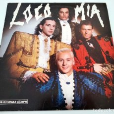 Discos de vinilo: VINILO MAXI SINGLE DE LOCOMIA. LOCO MIA. 1991.. Lote 283184548