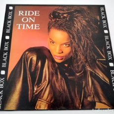 Discos de vinilo: VINILO MAXI SINGLE DE BLACK BOX. RIDE ON TIME. 1990.. Lote 283185238