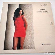 Discos de vinilo: VINILO MAXI SINGLE DE BLACK BOX. RIDE ON TIME. 1990.. Lote 283185758