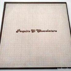 Discos de vinilo: VINILO MAXI SINGLE DE JUAN RAMON. PAQUITO EL CHOCOLATERO. 1993.. Lote 283186328